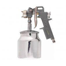 Краскораспылитель нижний бачок емкость 1 л диаметр выходного отверстия 1,2 мм 1,5 мм 1,8 мм MATRIX 57316