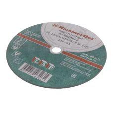 Круг абразивный отрезной 230х2х22,23 мм A 36 S BF HAMMER FLEX 232-005 по металлу с77940