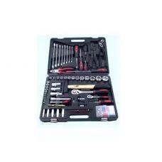 Набор инструмента  99 предметов 1/2, 1/4 дюйма JJ-BT99B головки ключи отвертки вставки в кейсе 47702