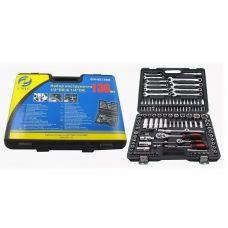 Набор инструмента 130 предметов 1/2, 1/4 дюйма GW-B5130M ключи, вставки в кейсе упакованы по 3 шт 47699