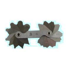 Набор шаблонов радиусных №1 размер от 1 до 6 мм