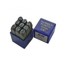 Набор клейм цифровых № 4 сталь БМ 650104