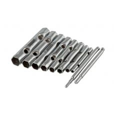 Ключи трубчато-свечные STAYER 2719-Н10 размер 6-22 мм комплект 10 шт 2719-Н10