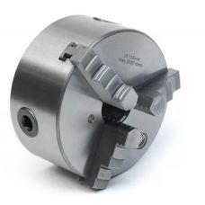 Патрон токарный 3-х кулачковый 125 мм 7100-0003П повышенной точности FUERDA