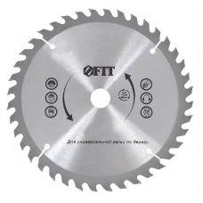 Пила диск 190х30х24Т твердосплавные пластины дерево FIT 37741