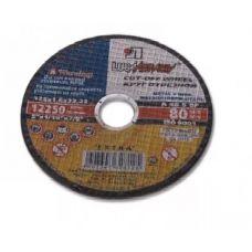 Круг абразивный отрезной 125х1,6х22 мм 40А ЛУГА по нержавейке с3387