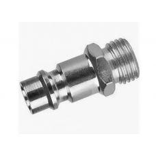 Адаптер для компрессора папа - наружная резьба 1/4 дюйма KRAFTOOL 06592