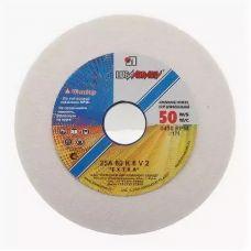 Круг абразивный шлифовальный 1 125х16х12,7 мм 25А 25СМ 60 K,L с33849