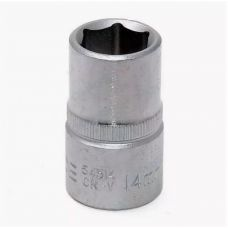 Головка торцевая размером 14 мм 6 граней привод 1/2 дюйма FORCE