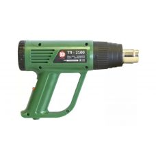 Пистолет горячего воздуха КАЛИБР ТП-2100 мощность 2100 Вт насадки кейс