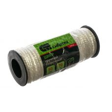 Шнур капроновый крученный 2 мм длина 50 м СИБТРЕХ 93964