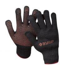 Перчатки утепленные полушерсть защита от скольжения размер L-XL ЗУБР 11462-XL