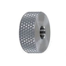 Ролик для накатки сетчатого рифления CNIC 00060596 20х9х6 мм шаг 0,8 мм угол 70 градусов универсальн 00060596