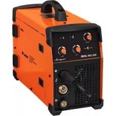 Сварочный инвертор MIG 200 REAL N24002 мощность 5,4 кВт 220 В полуавтоматический СВАРОГ