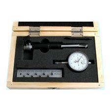 Нутромер индикаторный 10-18 мм цена деления 0,01 мм 9 вставок CNIC 22104