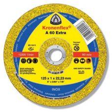 Круг абразивный отрезной 125х1,0х22 мм EXTRA KRONENFLEX по металлу 262937