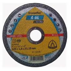 Круг абразивный отрезной 125х1,6х22 мм EXTRA KRONENFLEX по металлу 263248/340938