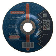 Круг абразивный зачистной 125х6х22 мм SP-Novoflex METABO 617170000