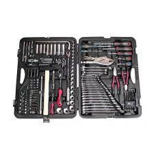 Набор инструмента 156 предметов 1/2, 1/4 дюйма 6 граней в кейсе JTC JTC-H156C-B72