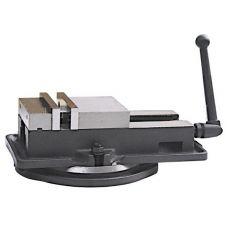 Тиски станочные 125 мм прецизионные сталь поворотные ход 125 мм и перпендикулярные 0,025/100 мм 32640