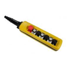 Пульт управления для тали CD количество кнопок 6 шт 380 В пыле/влагозащищенный TOR 1190516