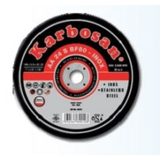 Круг абразивный зачистной 230х6,4х22 мм 24А RS T27 KARBOSAN 10600