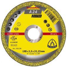 Круг абразивный отрезной 150х2,5х22 мм EXTRA KRONENFLEX по металлу 235375