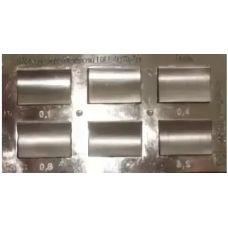 Набор образцов шероховатости ШЦВ ГОСТ 9378-75 шлифование цилиндрическое вогнутое г/п