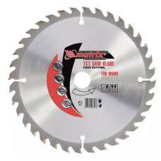 Пила диск 255х32х96Т твердосплавные пластины дерево + кольцо 30 MATRIX 73245