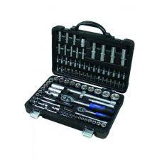 Набор инструмента  94 предметов 1/2, 1/4 дюйма размер 4-32 мм головки 6 граней FORSAGE 4941-5 FORSAGE