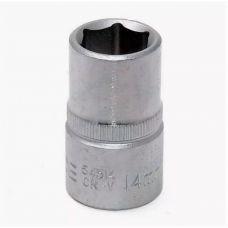 Головка торцевая размером 14 мм 6 граней привод 1/2 дюйма FORSAGE