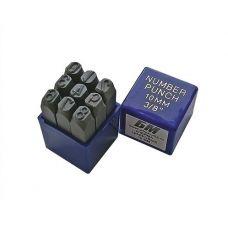 Набор клейм цифровых № 5 сталь БМ 37166/650105