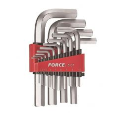 Ключи шестигранные комплект 13 шт размер 2-19 мм FORCE 5137