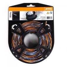 Леска для триммера 3,0 мм х 22 м крестообразная оранжевая/серая STIHL 0000 930 4302