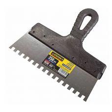 Шпатель сталь зуб  8 мм 250 мм STAYER PROFI