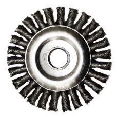 Щетка дисковая 125х22 мм плетеная сталь ГЕФЕСТ