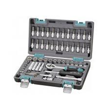 Набор инструмента  57 предметов 1/4 дюйма размер 4-14 мм STELS 14101