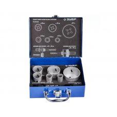 Пилы кольцевые по металлу биметаллические размер 22, 25, 35, 40, 51, 67 мм ЗУБР