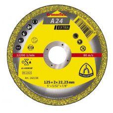 Круг абразивный отрезной 125х2,0х22 мм SUPRA KRONENFLEX по металлу 126849