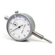 Индикатор часовой ИЧ диапазон 0-50 мм без ушка класс точности 0,01 мм диаметр 80 мм 41193