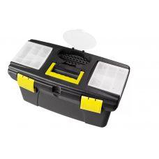 Ящик для инструмента пластиковый 16 дюймов 410х220х195 мм STAYER 38105-16_z02(z03)