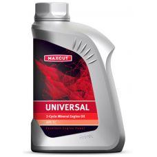 Масло 2-тактное MAXCUT UNIVERSAL минеральное 1 литр
