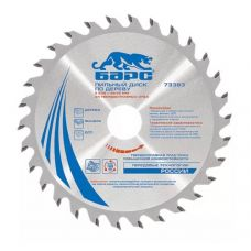 Пила диск 250х30/32х24Т твердосплавные пластины дерево БАРС 73387