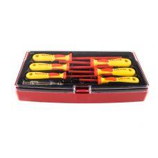 Набор отверток 7 предметов диэлектрические LICOTA ASD-900K1