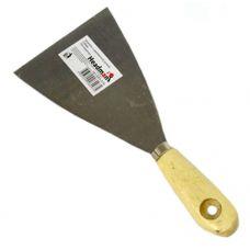Шпатель сталь  60 мм деревянная ручка HEADMAN