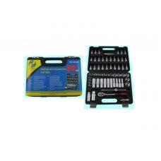 Набор инструмента головок 60 предметов 3/8 дюйма GW-B3060M головки, вставки упаковано по 6 шт в кейсе 47696