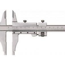 Штангенциркуль 200 ШЦ-2-200 мм класс точности 0,05 мм с устройством точной установки рамки губки 60 мм ЧИЗ