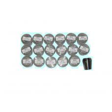 Набор цанг ER32 размер 3,4,5,6,7,8,9,10,11,12,13,14,15,16,17,18,19,20 мм упаковка 18 шт деревянный ящик DIN6499 29893