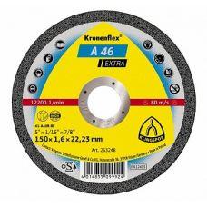 Круг абразивный отрезной 150х1,6х22,23 мм SPECIAL KRONENFLEX по металлу 241472
