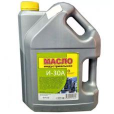 Масло индустриальное И30А канистра 9 кг